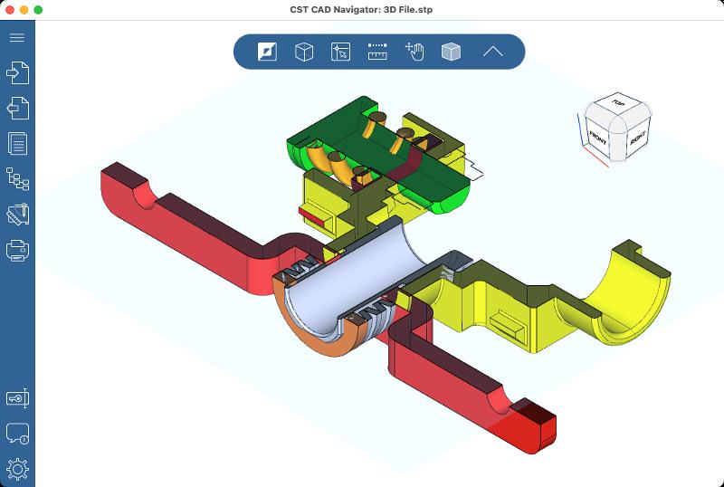 CST CAD Navigator for macOS