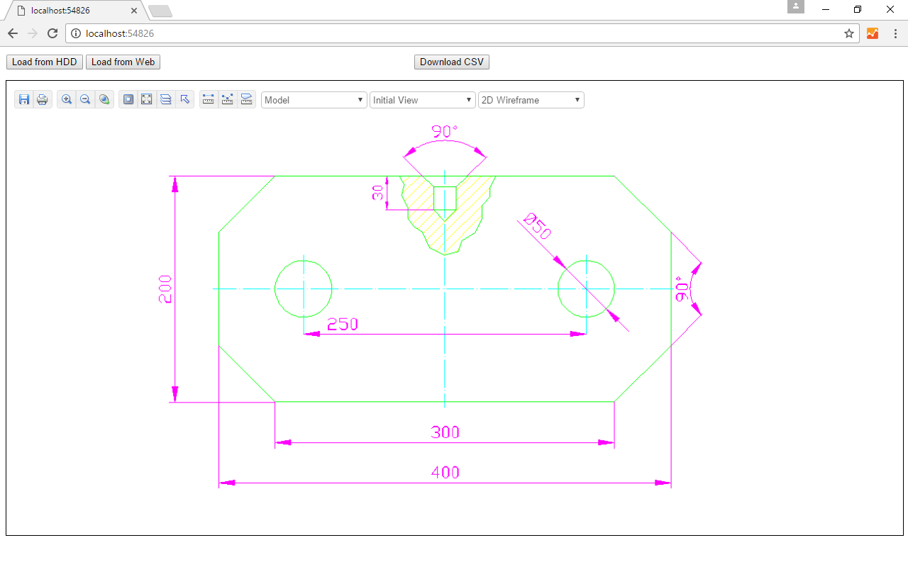 Click to view Web CAD SDK screenshots