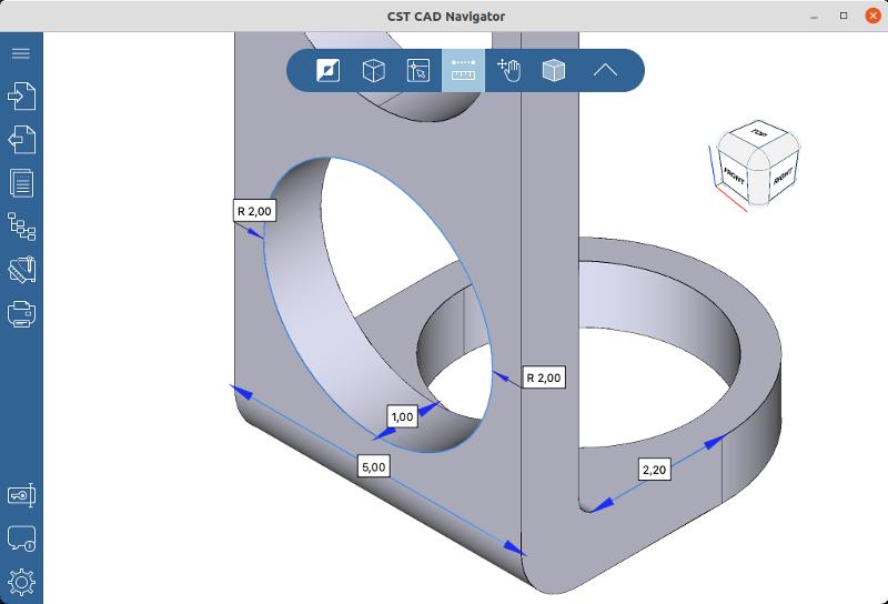CST CAD Navigator for Linux