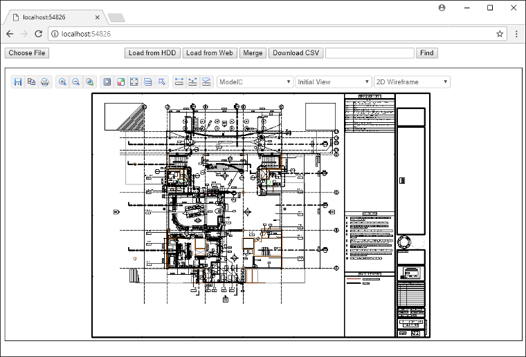 Web CAD SDK - View DWG in SharePoint and on the Internet